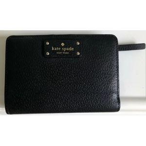 Kate Spade Grove Street Tellie Small Black Wallet